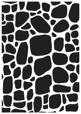 Kaisercraft Embossing Folder - Cobblestone | Kaisercraft