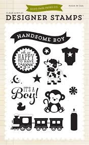 Echo Park - Bundle of Joy 2 - It's A Boy 4x6 Stamp