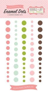 Echo Park - Bundle of Joy 2 - Girl Enamel Dots