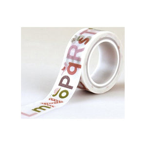 Echo Park - Bundle of Joy 2 - Washi Tape / Alphabet