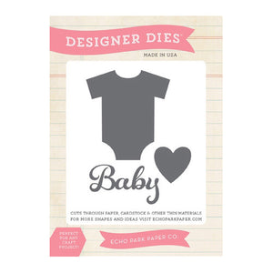 Echo Park - Bundle of Joy 2 - Baby Onsie Die Set