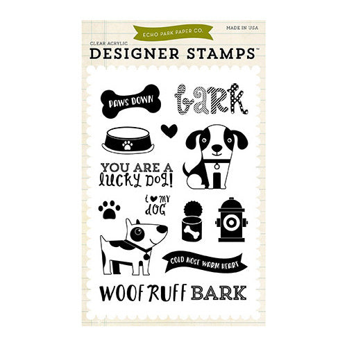 Echo Park - Lucky Dog Stamp - Bark