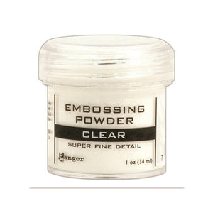 Ranger - Embossing Powder - Clear - Super Fine (EPJ37385)