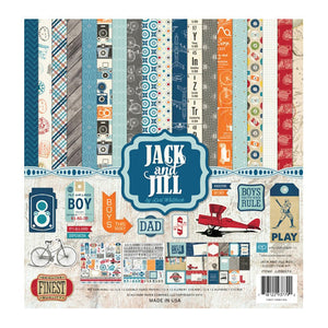 Echo Park - Collection Kit - Jack & Jill Boy
