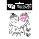 Express Yourself 3D Sticker - Wedding Day - Fairy Cupcakes