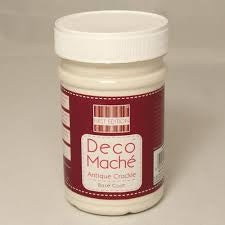 Deco Mache - Antique Crackle Step 1 Base - 250ml
