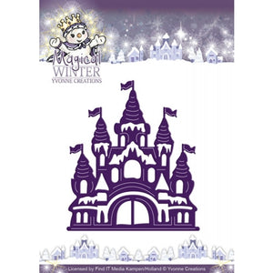 Find It Trading (Yvonne Creations) Magical Winter - Castle Die