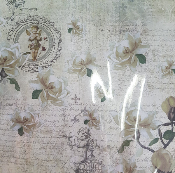 Fab Scrap Floral Dreams - Mixed Double Sided Papers (9 sheets/12 x 12)