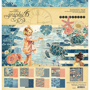 Graphic 45 - Sun Kissed Collection Pack 12x12""