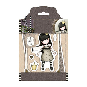 Santoro Gorjuss Tweed Rubber Stamps - My Own Universe