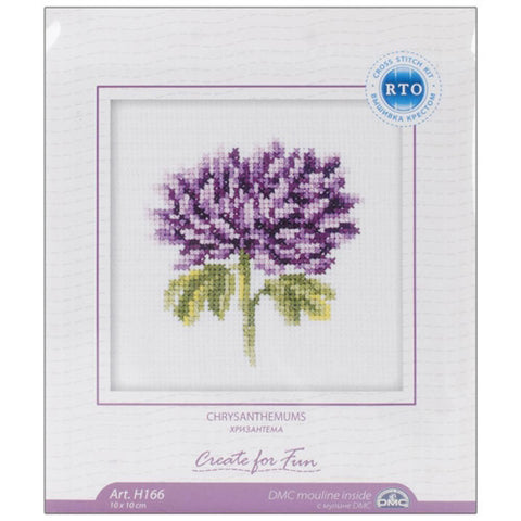 RTO Baltic - Counted Cross Stitch - Chrysanthemums