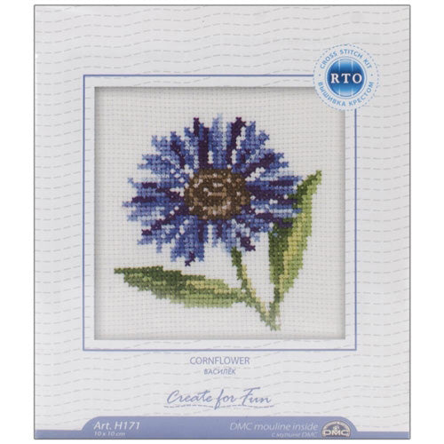 RTO Baltic - Counted Cross Stitch - Cornflower