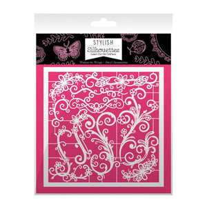 Hunkydory - Intricate Laser - Cut designs (Stylish Silhouettes) - Wishes On Wings/Swirls Sensations - 6 x 6