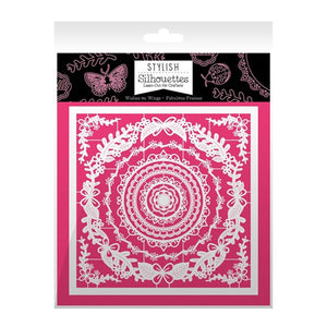 Hunkydory - Intricate Laser - Cut designs (Stylish Silhouettes) - Wishes On Wings/Fabulous Frames - 6 x 6