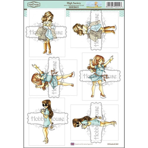 Hobby House - Elizabeth B Topper Sheet - High Society