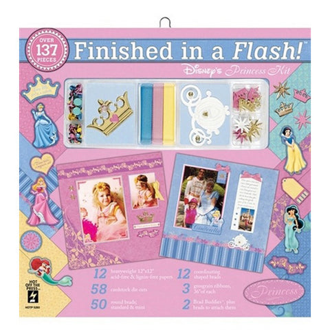 Hot Off The Press - Page Kit - Finish in a Flash - Disney Princess
