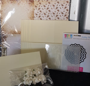 Limited Edition Kit - Hearts Ease 6x6 Card Kit