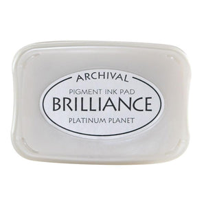 Brilliance Ink Pad - Platinum Planet