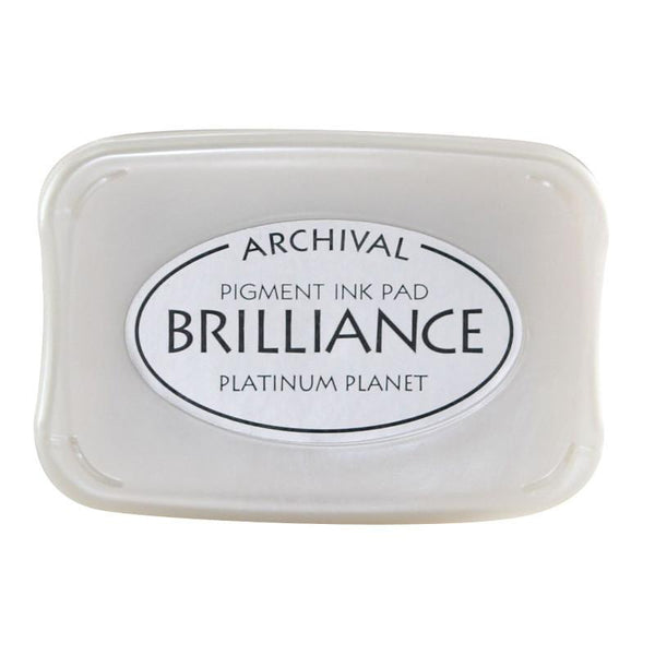 Brilliance - Ink Pad - Platinum Planet