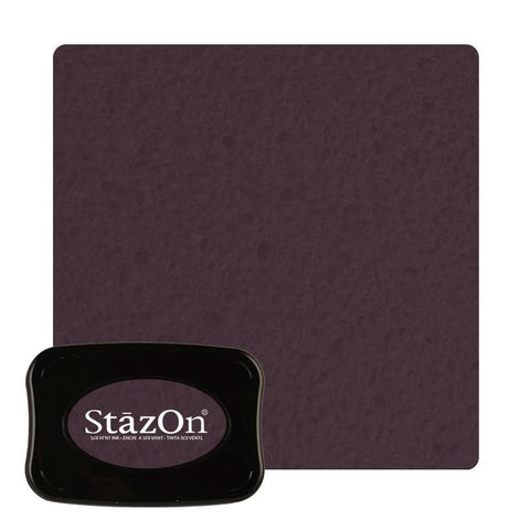 Staz On - Solvent Ink pad - Timber Brown