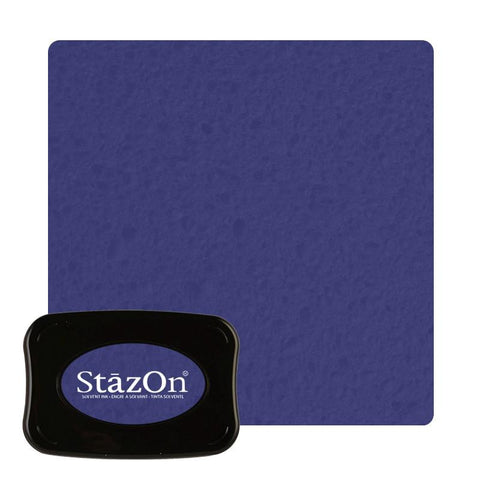 Staz On - Solvent Ink pad - Ultramarine