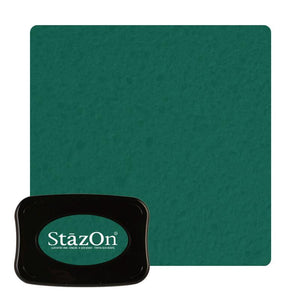 Staz On -  Solvent Ink pad - Forest Green WH