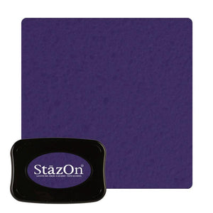 Staz On -  Solvent Ink pad -  Royal Purple