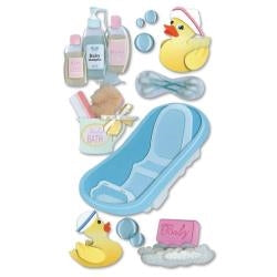 Jolee's Boutique Dimensional Stickers - Bath Time