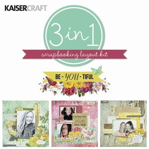 Kaisercraft Layout Kit - Be-YOU-tiful