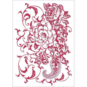 Stameria Stencil - 7 Floral Ramage | STAMPERIA INTERNATIONAL, KFT