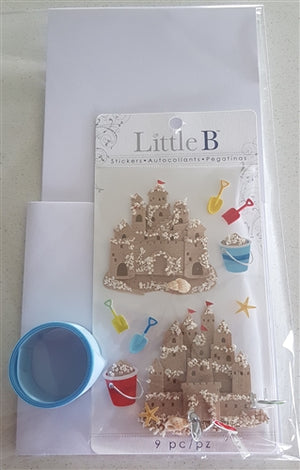 Little B Card pack - Sand Castles