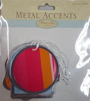Marcella by Kay - Metal Accents Pattern - Filled Paper Tags