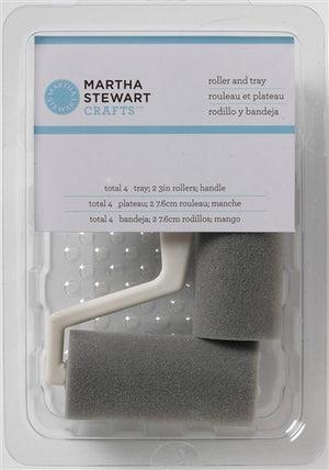 Plaid / Martha Stewart - Rollers & Tray (4pcs)