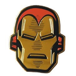 "Marvel Licensed Heavy Duty Embossed Metal Sticker - Ironman Head (2.75""x3.125"")"