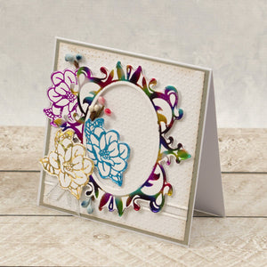 Esthetica Cut, Foil and Emboss Decorative Nesting Die -Magnolia Frames