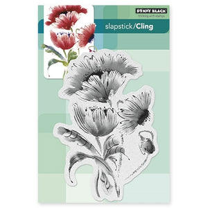 Penny Black - Cling Stamp - Pop Pop Poppy (5x7)