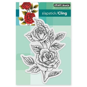 Penny Black - Cling Stamp - Scented Beauty (4x6)