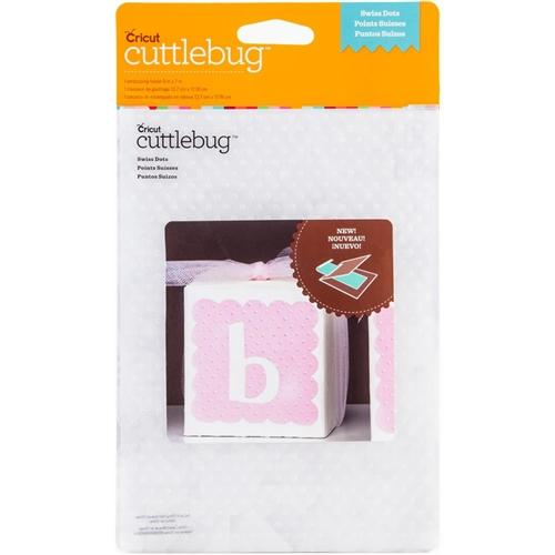 "Cuttlebug 5""X7"" Embossing Folder - Swiss Dots"