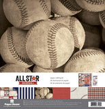 Paper House - Paper Crafting / Scrapbooking Kit - Baseball (12x12)