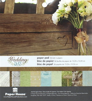 Paper House - Paper Pad - Wedding Day (6 x 6)