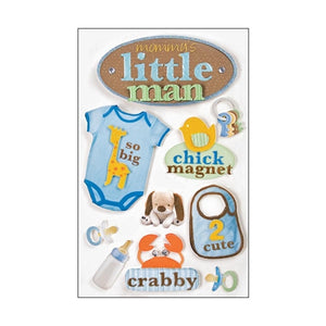 Paper House - 3D Stickers - Little Man
