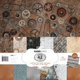 Kaisercraft Factory 42 Paper Pack with Bonus Sticker Sheet
