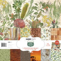 "Kaisercraft Open Road Collection - 12x12"" Paper pack with Bonus sticker sheet"