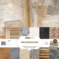 "Kaisercraft Documented Collection - 12x12"" Paperpack with Bonus Sticker sheet"