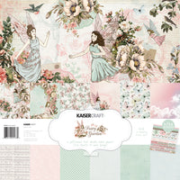 "Kaisercraft Fairy Garden Collection - 12x12"" Paperpack with Bonus Sticker sheet"