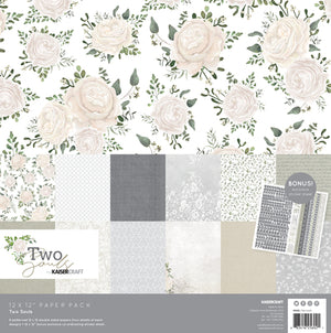 "Kaisercraft 6.5"" Paper Pad - Two Souls"