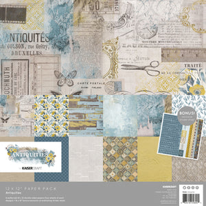 "Kaisercraft Antiquities Collection  - 12x12"" Collection Pack"