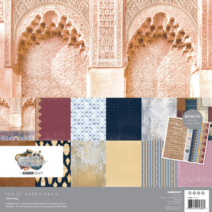 "Kaisercraft Journey Collection  - 12x12"" Collection Pack 