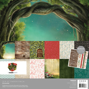 "Kaisercraft Enchanted Collection  - 12x12"" Collection Pack"