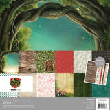 "Kaisercraft Enchanted Collection  - 12x12"" Collection Pack 